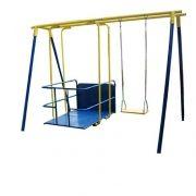 Playground Adaptado Balanço Americano Cadeirante