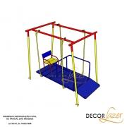Playground Adaptado Balanço Cadeirante