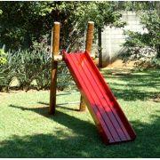 Playground de Tronco Escorregador