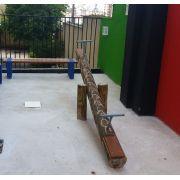 Playground de Tronco Gangorra