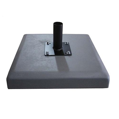 BASE SUPORTE PARA OMBRELONE EM CONCRETO 28 KG   - Natumóveis Decorlazer