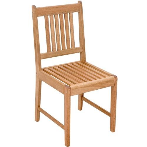 Cadeira de Madeira Ipanema 40  - Natumóveis Decorlazer