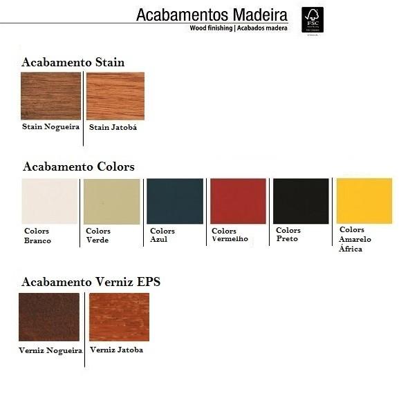 MESA DE MADEIRA MESTRA 85 x 85  - Natumóveis Decorlazer