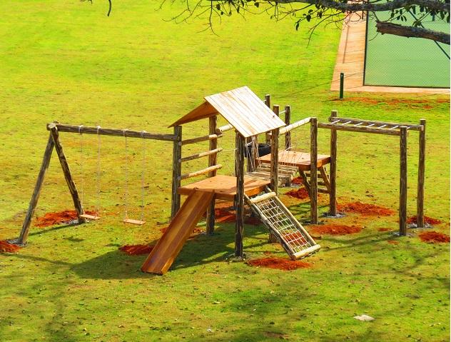 Playground Aldeota de Tronco  - Natumóveis Decorlazer