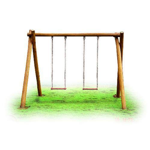 Playground de Tronco Balanço  - Natumóveis Decorlazer