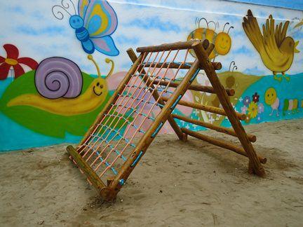 Playground de Tronco <br>Cestão  - Natumóveis