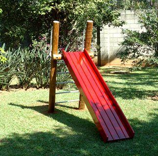 Playground de Tronco Escorregador  - Natumóveis