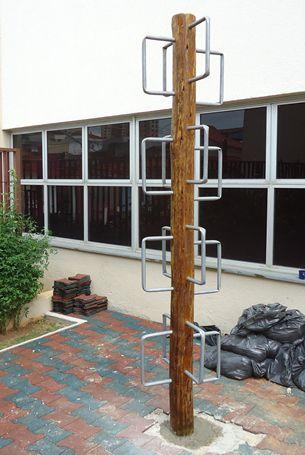 Playgrround de Tronco Escada da Arvore  - Natumóveis Decorlazer