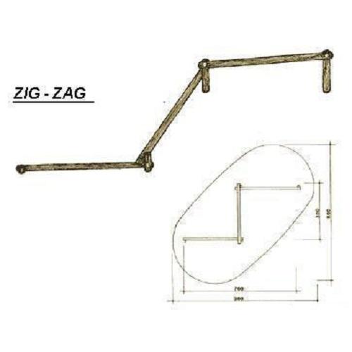 Zig Zag de Tronco <br><br>  - Natumóveis Decorlazer