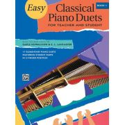 Easy Classical Piano Duets, Book 1