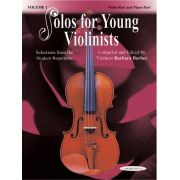 Solos for Young Violinists Books, Volume 1