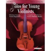 Solos for Young Violinists Books, Volume 2