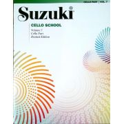 Suzuki Cello School Cello Part, Volume 7 (Revised)