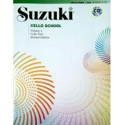 Suzuki Cello School Method Book and CD, Volume 1 (Revised)