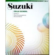 Suzuki Cello School Piano Accompaniment, Volume 5 (Revised)