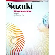 Suzuki Recorder School Recorder Part, Volume 2, Alto (Revised)