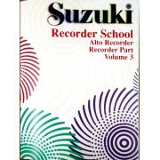Suzuki Recorder School Recorder Part, Volume 3, Alto (Revised)