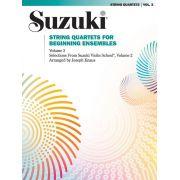 Suzuki String Quartets, Volume 2