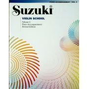 Suzuki Violin School Piano Accompaniment, Volume 2 (Revised)