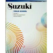 Suzuki Violin School Piano Accompaniment, Volume 5 (Revised)