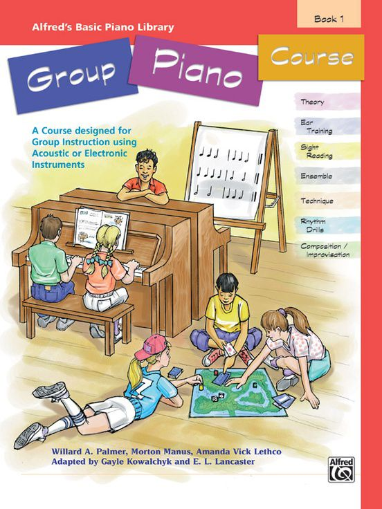 Alfred´s Basic Group Piano Course, Book 1