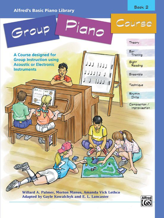 Alfred´s Basic Group Piano Course, Book 2