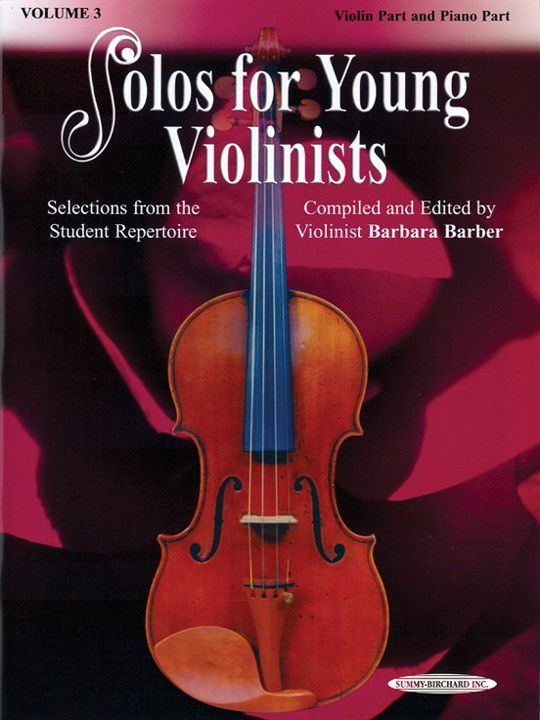 Solos for Young Violinists Books, Volume 3