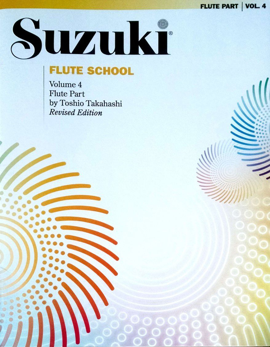 Suzuki Flute School Flute Part, Volume 4 (Revised)