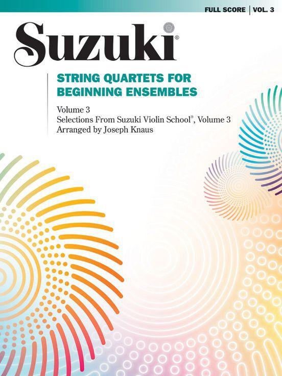Suzuki String Quartets, Volume 3
