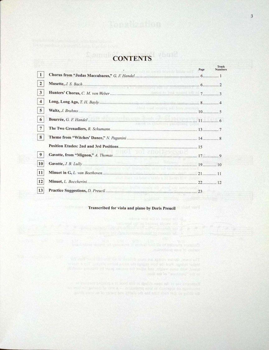 Suzuki Viola School Viola Part, Volume 2 (Revised)