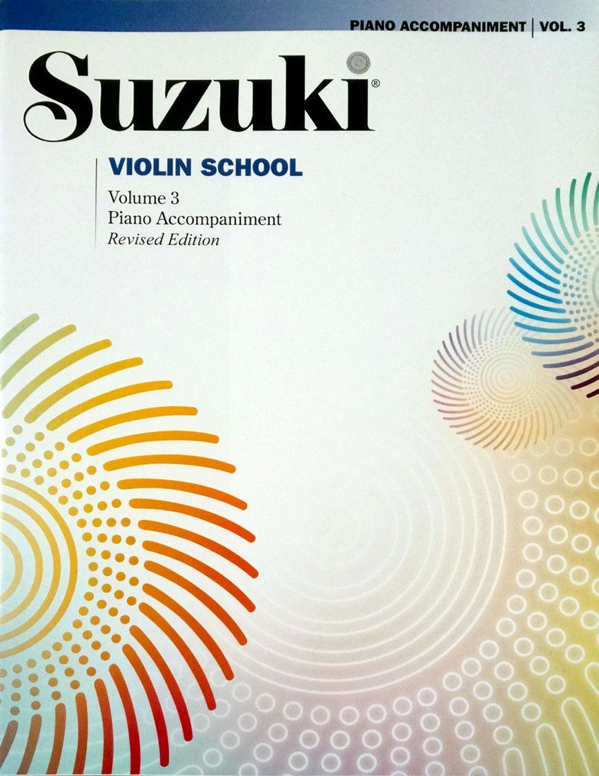 Suzuki Violin School Piano Accompaniment, Volume 3 (Revised)