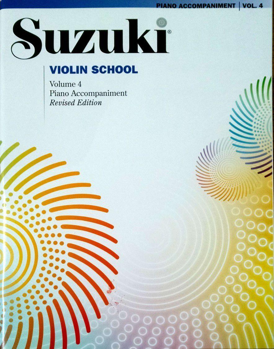 Suzuki Violin School Piano Accompaniment, Volume 4 (Revised)
