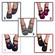 6754de03e2 Meia Sapatilha Feminina Puket Kit Com 5 - Pé Tuquinho Calçados e ...