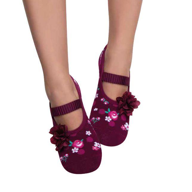0841e17b1e Meia Sapatilha Feminina Puket Kit Com 5 - Pé Tuquinho Calçados e Moda  Infantil