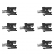 302HS24250 - Kit com 7 Buchas do Rolo de Transferência - Para uso em Kyocera Séries