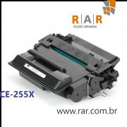 CE255X / 55X - CARTUCHO DE TONER PRETO COMPATÍVEL NOVO PARA HP P3015 E SERIES