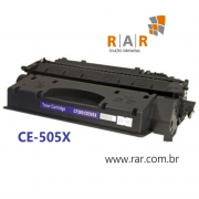 CE505X  / CF280X  - CARTUCHO DE TONER PRETO COMPATÍVEL NOVO PARA HP P-2055, P-2055N, P-2055DN, P-2055X
