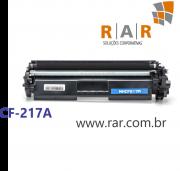 CF217A (17A)  - CARTUCHO DE TONER PRETO COMPATÍVEL 100% NOVO PARA HP  M130A / M102A E SERIES