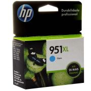 Tinta Original HP 951XL, 951, CIANO, CN046AL | 8610, 8620, 8100, 8600 PLUS, 8630