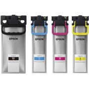 Tinta Epson - Bolsa Original, as 4 cores T941220 | T941320 | T941420 | T941120| WORKFORCE WF-C5710 WF-C5790 WF-C5290