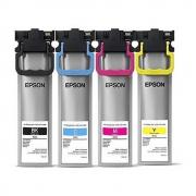 Tinta Original EPSON, Kit com as 4 cores (T941220 | T941320 | T941420 | T941120)| WORKFORCE WF-C5710 WF-C5790 WF-C5290