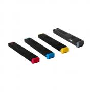Kit com 4 Cartuchos Originais (MX23BTBA   MX23BTMA   MX23BTYA   MX23BTCA) - Para uso Sharp Séries