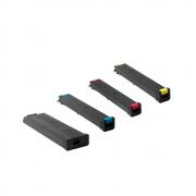 Kit com 4 Cartuchos de Toner Compatíveis (MX51BTBA | MX51BTMA | MX51BTYA | MX51BTCA) - Para uso em Sharp Séries