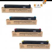 KIT COM 4 CORES - CARTUCHOS ORIGINAL SHARP - PARA USO EM MX3100N E SERIES - MX31BTBA, MX31BTMA, MX31BTYA, MX31BTCA