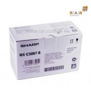 MXC30NTB (MX-C30NTB) - CARTUCHO DE TONER PRETO ORIGINAL PARA SHARP MX-C300W E SERIES