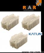 MX-SCX1 (MXSCX1) - CARTUCHO DE GRAMPOS COM 3 UNIDADES COMPATIVEL KATUN PARA  SHARP PARA MX-2310U / MX-2700N E SERIES
