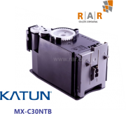 MXC30NTB / MX-C30NTB - CARTUCHO DE  TONER PRETO COMPATÍVEL 100% NOVO - KATUN PERFORMANCE PARA SHARP MX-C300W