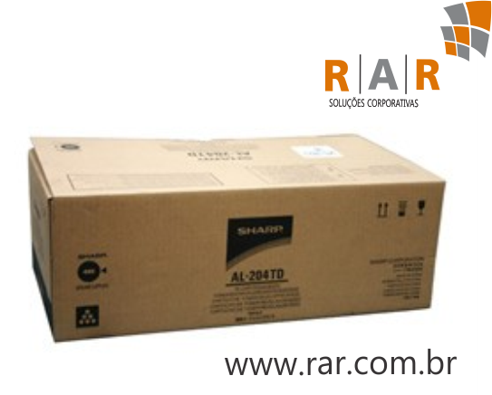 AL-204TD (AL204TD) - CARTUCHO DE TONER ORIGINAL DO FABRICANTE PARA SHARP AL2031 AL2051 AL2061 E SERIES