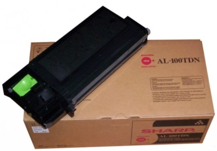 AL-100TD - CARTUCHO DE TONER ORIGINAL DO FABRICANTE PARA SHARP AL-1000, AL-1530CS E SERIES