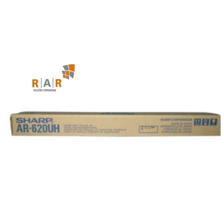 AR620UH / AR-620UH - KIT DE ROLO DE FUSÃO SUPERIOR ORIGINAL PARA SHARP MX-M700N, MX-M620N E SERIES